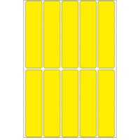 Herma Universele etiketten 20x75mm geel voor handmatige opschriften 320 St (2421)