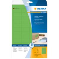 Herma Etiketten groen 45.7x21.2 A4 960 st. (4369)