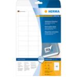 Herma 4346 Etiketten wit Movables/verwijd. 45.7x21.2 A4 1200 st 4008705043465