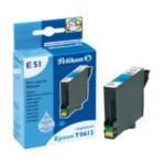 Pelikan 352729 E51 inktcartridge 1 stuk(s) Cyaan 4018474352729