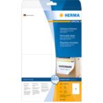 Herma 5082 Etiketten wit Movables/verwijd. 105x148 mm A4 100 st. 4008705050821
