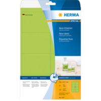 Herma Etiketten neon-groen 99.1x67.7 A4 160 st. (5147)
