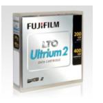 Fujifilm 45087 LTO Tape 200GB Ultrium 2 4902520249975