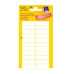 Zweckform 3044 Avery Mini Etiketten, wit, 32,0 x 10,0 mm, permanent klevend 4004182030448