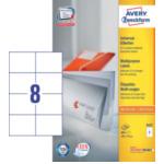 Zweckform 3427 Avery Universele Etiketten, wit, 105,0 x 74,0 mm, permanent klevend 4004182034279