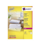 Avery L7173-100 L7173-100 Wit zelfklevendevend label adreslabels 3266550260104