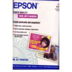Epson C13S041054 Photo Quality Ink Jet Paper, DIN A6, 144g/m², 50 Vel 10343811898