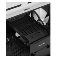 Phanteks ENTHOO EVOLV ITX Mini-Toren Wit computerbehuizing (PH-ES215P_WT)