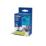 Brother TZ-561 TZ-561 Zwart op blauw TZ labelprinter-tape 4977766054249