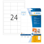 Herma 4820 4820 Wit Zelfklevend printerlabel printeretiket 4008705048200