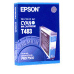 Epson C13T483011 inktpatroon Cyan T483011 10343830448