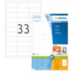 Herma 4613 Etiketten wit 66x25.4 Premium A4 6600 st 4008705046138