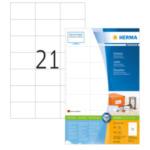 Herma 4616 Etiketten wit 70x42.3 Premium A4 4200 st 4008705046169