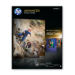 HP Q8698A Advanced Photo Paper, glanzend, 50 vel, A4/210 x 297 mm 882780349667