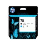 HP C9404A 70 matzwarte/cyaan DesignJet printkop 882780390751