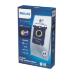 Philips FC8021/03 s-bag 4 stofzuigerzakken, stofzuigerzakken 8710103291381