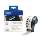 Brother DK-22211 Witte doorlopende filmtape 29 mm labelprinter-tape 4977766628204