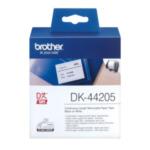 Brother DK-44205 Verwijderbare witte papiertape 62 mm 4977766635127
