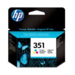 HP CB337EE 351 1 stuk(s) Origineel Normaal rendement Cyaan, Magenta, Geel 808736844772