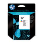 HP C6625A 17 Tri-color Original Ink Cartridge inktcartridge 1 stuk(s) Origineel Normaal rendement Cyaan, Magenta, Geel 882780600782