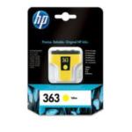 HP C8773EE#BA1 363 inktcartridge 1 stuk(s) Origineel Geel 829160798400