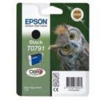 Epson C13T07914010 Owl inktpatroon Black T0791 Claria Photographic Ink 8715946360461