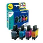 Pelikan 355041 P07 Zwart, Cyaan, Magenta, Geel inktcartridge 4018474355041