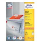 Zweckform 3477 Avery Universal Labels, White 105x41mm 1400 stuksuk(s) etiket 4004182034774