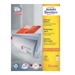 Zweckform 3475 Avery Multi-Function Labels Wit 4004182034750