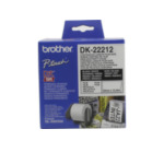 Brother DK-22212 Witte doorlopende filmtape 62 mm labelprinter-tape 4977766628211