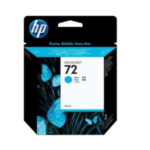 HP C9398A 72 cyaan DesignJet inktcartridge, 69 ml 735029215172