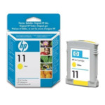 HP C4838AE 11 inktcartridge 1 stuk(s) Origineel Normaal rendement Geel 886988591552