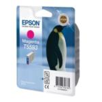 Epson C13T559340 Penguin STYLUS PHOTO RX700 Ink Cartridge (Magenta) Origineel 8715946356785