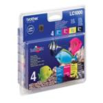 Brother LC-1000VALBP Kit: 4x Inktcartridges 5014047560453