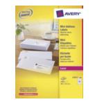 Zweckform L7651-10BX Avery L7651-100 Wit printeretiket 4004182056493