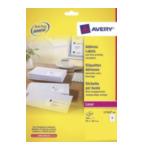 Avery L7163-40 L7163-40 Wit adreslabels 5014702175237