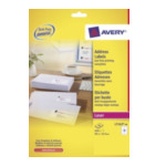 Avery L7162-40 L7162-40 Wit adreslabels 3266550263396