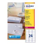 Avery L7159-T Address Label - Laser 63.5 x 33.9 mm Wit 3266550260296