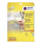 Avery L603220 L6032-20 Blauw 480 stuksuk(s) etiket 4004182288221