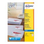 Avery J8160-40 White Address Label - Inkjet - J8160 Wit 3266550270219