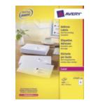 Avery L7162-250 L7162-250 Wit Zelfklevend label adreslabels 5014702810275