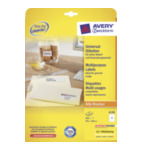Avery 6120A Laser & Ink Jet Labels 105 x 148mm Wit 4004182061206