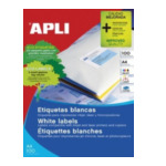 Apli 581292 Labels 105 x 70mm Wit 800 stuksuk(s) etiket 8410782106395