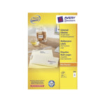 Zweckform 3484 Avery Universal Labels, White 105x37mm 1600 stuksuk(s) etiket 4004182034842