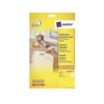Avery L4733REV-25 Afneembare Etiketten, wit, 99,1 x 139,0 mm, afneembaar 5014702000836