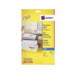 Avery J8651-25 J8651-25 Wit printeretiket 3266550273012