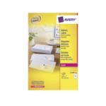 Avery L7160-T Address Label - Laser 250 Sheets 63.5 x 38.1 Wit 3266550260302