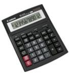 Canon 0694B001 WS-1210T Desktop Rekenmachine met display Zwart calculator 4960999291246