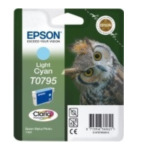 Epson C13T07954010 Owl inktpatroon Light Cyan T0795 Claria Photographic Ink 8715946360621