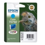 Epson C13T07924010 Owl inktpatroon Cyan T0792 Claria Photographic Ink 8715946329871